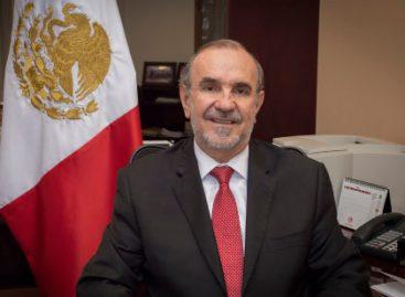 Carlos Manuel Sada embajador de México en EU; José Paulo King subsecretario para América del Norte