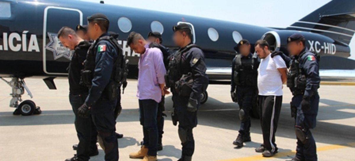 Detienen en operativo conjunto a tres integrantes de grupo delictivo en Tamaulipas