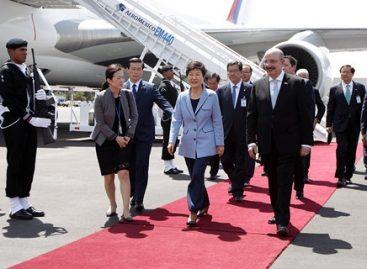 Llega a México en visita oficial presidenta de la República de Corea, Park Geun-hye