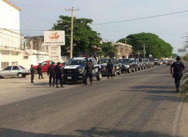 """Activan operativo """"Juchitán seguro""""; Participan 300 policías estatales y federales"""