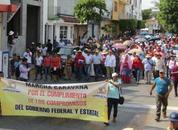 Juchitán se desangra, su presidente con marcha pide cita con Gabino Cué