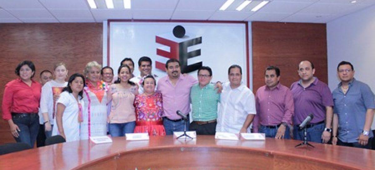 En tiempo y forma, el PRI registra ante el IEEPCO a sus candidatos a diputados locales