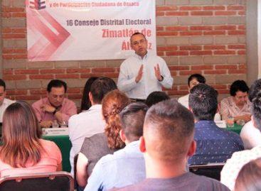 Brindan observadores electorales certeza en las elecciones: IEEPCO
