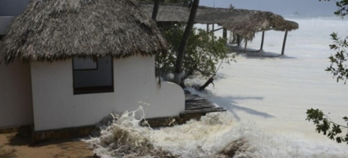 Prevén evento de Mar de Fondo en la franja costera de Oaxaca