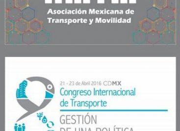 Movilidad y cambio climático, temas del Octavo Congreso Internacional de Transporte
