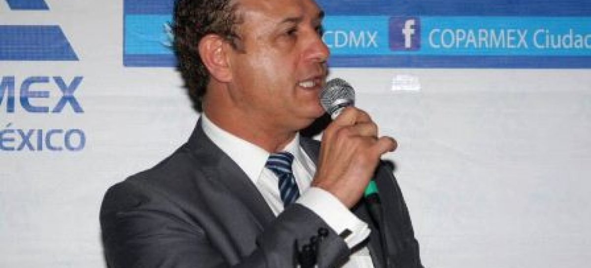 Busca Jesús Padilla la presidencia de la Coparmex en la Ciudad de México