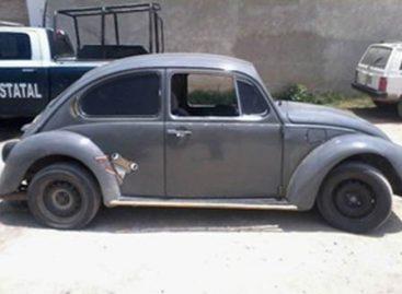 Aseguran fuerzas de seguridad dos vehículos con reporte de robo en Oaxaca