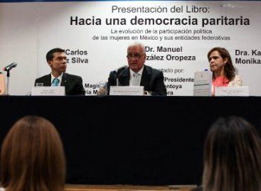 Obligados partidos políticos y autoridades electorales a cumplir con paridad de género: González Oropeza
