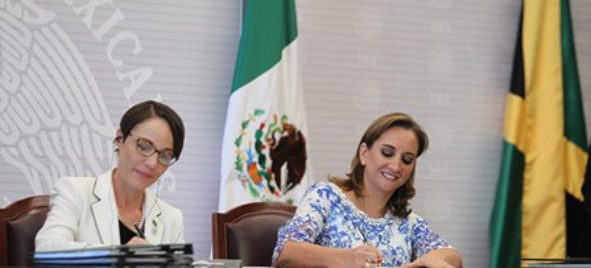 Concluyó la VIII Reunión de la Comisión Binacional Permanente México-Jamaica