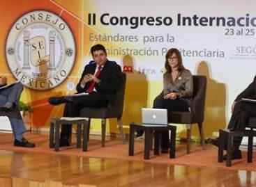 Continúan trabajos del II Congreso Internacional: Estándares para la Administración Penitenciaria