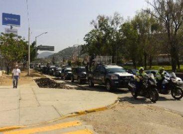 Arriban a Oaxaca mil 200 elementos federales para reforzar la seguridad y el orden público