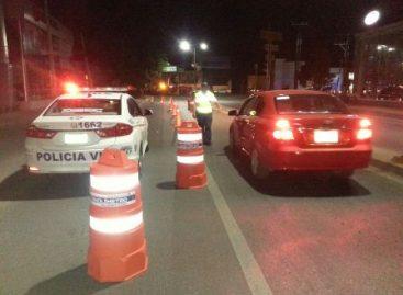En Operativo Alcoholímetro, detenidos 14 conductores en estado de ebriedad y uno bajo la influencia de estupefacientes