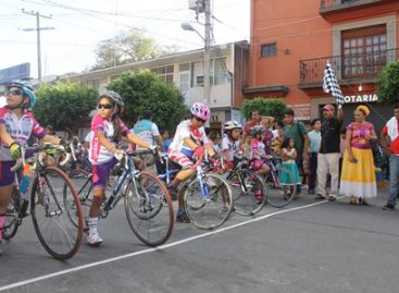 """Celebran a la niñez juchiteca con """"Clásica ciclista infantil 2016, Día del niño"""""""