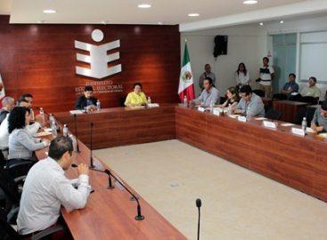 Comparte IEEPCO experiencia sobre voto desde el extranjero con funcionarios de Guanajuato