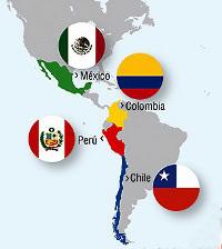 Chile, Colombia México y Peru