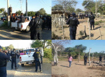 Detenidas 22 personas acusadas de presunto de despojo en el Istmo de Oaxaca