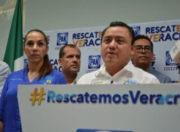 Guerra sucia de Duarte no nos detendrá, advierten panistas en Veracruz