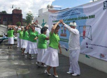 Con bailables regionales, gimnasia y gastronomía, inauguró IMSS Primera Semana de Prestaciones Sociales