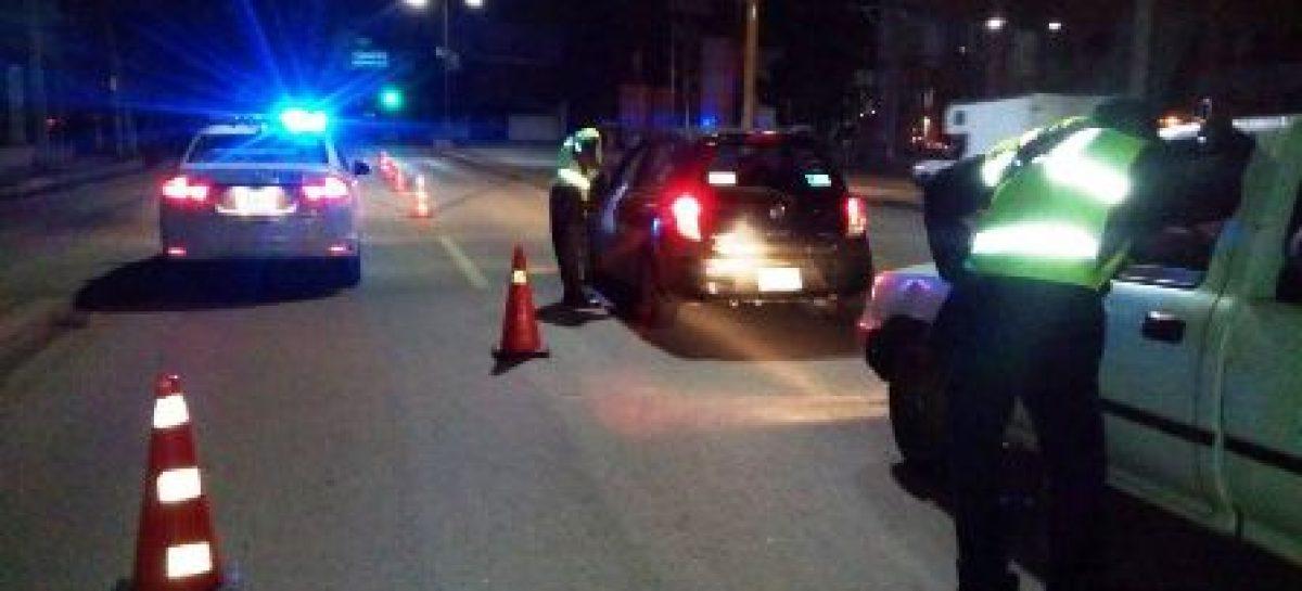 Reporta Policía Vial de Oaxaca ocho conductores detenidos en el Alcoholímetro