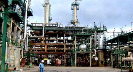Planta Catalítica 1 de la refinería de Salina Cruz
