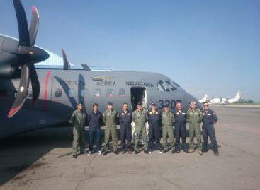 Firma Fuerza Aérea Mexicana convenio de colaboración para realizar un vuelo al Polo Norte