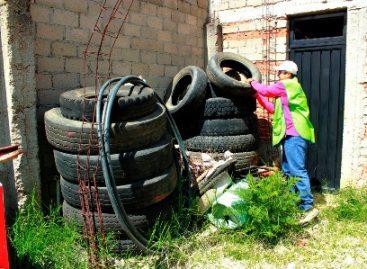 Recomienda municipio de Oaxaca medidas de  prevención por  mosquito Aedes Aegypti