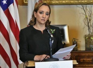 Ofrece canciller Claudia Ruiz Massieu discurso sobre la presencia de México en Estados Unidos