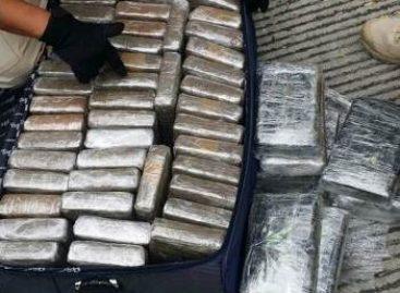 Tres detenidos con más de media tonelada de cocaína en el Aeropuerto Internacional de la Ciudad de México