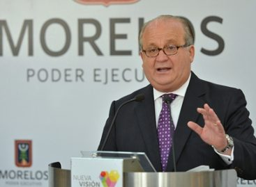 Aprueba Permanente pedir informe a gobernador de Morelos sobre resultado de acciones en seguridad pública