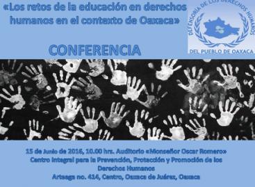 Retos educativos para fomentar la cultura en Derechos Humanos