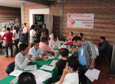 Verifica Consejo General del IEEPCO cómputos de las elecciones en Oaxaca