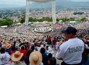 Garantiza Gobierno de Oaxaca seguridad durante festividades de la Guelaguetza 2016 y vacaciones de verano