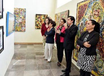 """Expone Pablo Esteban """"Tentación de Textura"""" en la Legislatura de Oaxaca"""