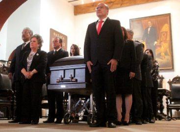 Solemnidad y música para recordar al entrañable Cronista de la Ciudad, Don Rubén Vasconcelos Beltrán