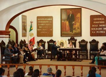 Autoriza Cabildo de Oaxaca solicitar a la federación recursos para reparar patrimonio por conflicto magisterial