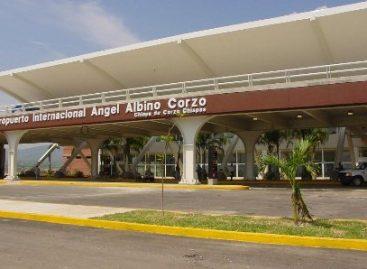Liberados accesos vehiculares del Aeropuerto Internacional de Tuxtla Gutiérrez, Chiapas
