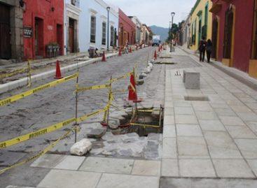 Avanzan obras en segunda etapa del Andador Semi Peatonal Cruz de Piedra–Carmen Alto