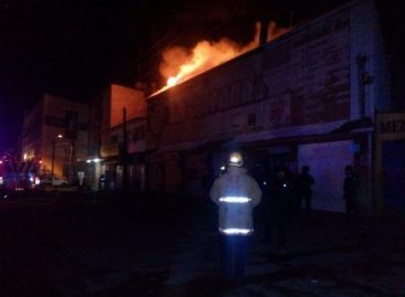 Causa incendio en empresa chocolatera de Oaxaca cuantiosas pérdidas materiales