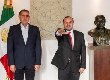 Designan a Germán Cervantes Ayala como nuevo director General del IEEPO