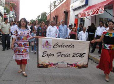 Con colorida calenda, inauguran la Expo Feria Huajuapan 2016