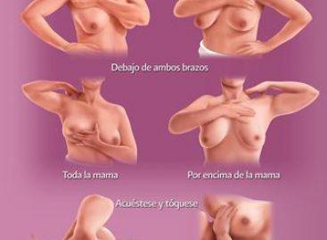 Para prevenir el cáncer de mama, recomienda IMSS realizarse la autoexploración