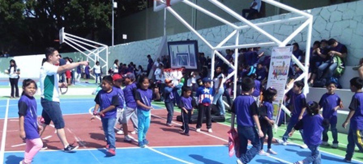Participan en actividades deportivas 135 ni os inscritos for Actividades recreativas en el salon de clases