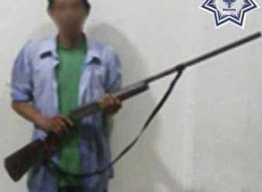 Detenidos tres sujetos con armas de fuego en la Cuenca, el Istmo y la Costa de Oaxaca