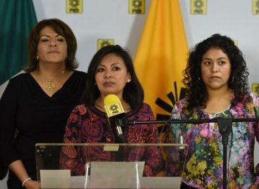 Se congratula PRD por resoluciones del Tribunal Electoral que repone derechos políticos de la mujer