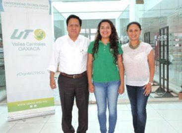 Rosario, primera joven universitaria oaxaqueña en obtener la beca académica MEXPROTEC