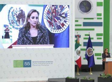 Refrenda México su compromiso con el respeto a los Derechos Humanos
