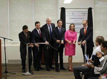 Inaugura Ruiz Massieu en Milwaukee el consulado número 50 de México en Estados Unidos