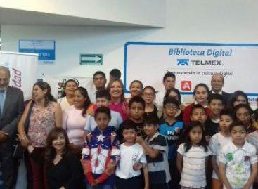 Inauguran Biblioteca Telmex en la Ciudad de México a fin de fomentar la inclusión digital