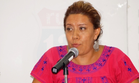 Presidenta del PRD Oaxaca