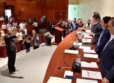 Asume Gerardo García Henestroza presidencia de la Jucopo en el Congreso de Oaxaca